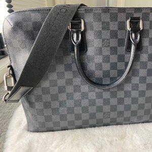 Louis Vuitton Damier Graphite Laptop Bag